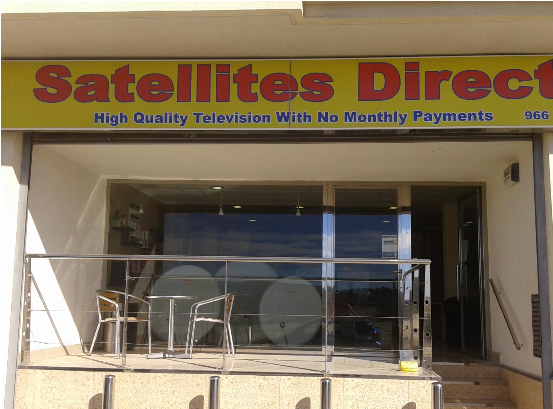 satellite TV shop in san miguel, spain offering the best quality and service